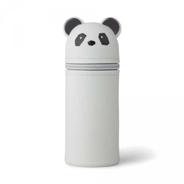 """Liewood """"Vitus"""" Stiftemäppchen Panda grau"""