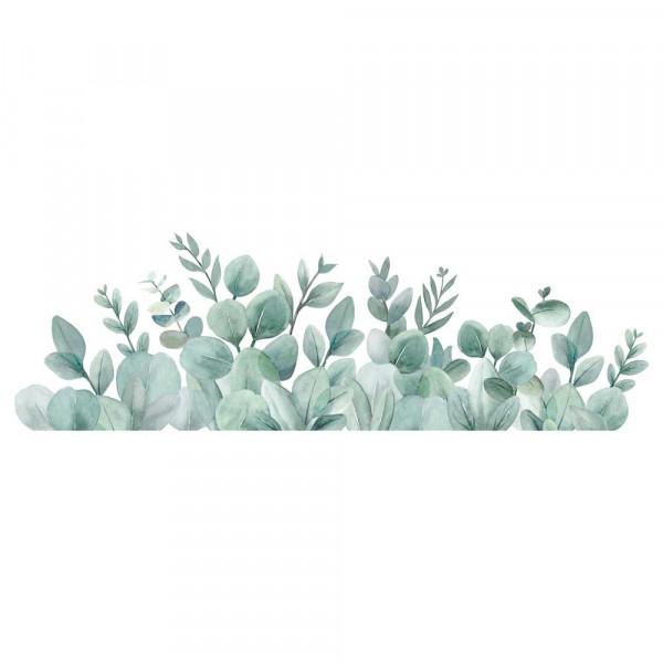 Lilipinso Wandsticker Eucalyptusborte zartgrün