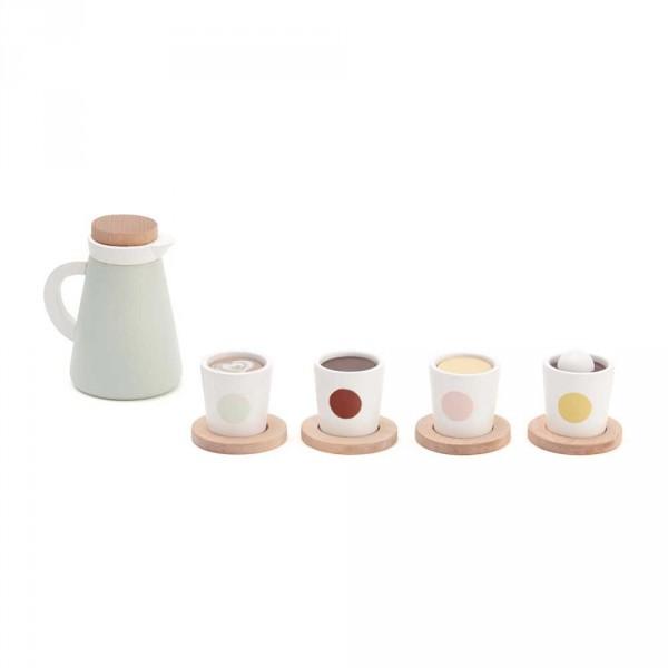 Kids Concept Kaffee- und Teeset für Kinderküchen
