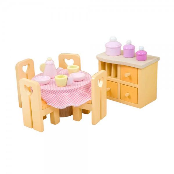 Le Toy Van Puppenhaus Zubehör Esszimmer Sugar Plum