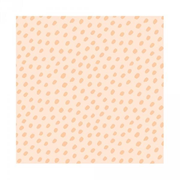 Lilipinso Vlies Tapete Punkte koralle