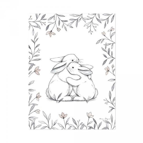 Lilipinso Poster Kuschelhäschen