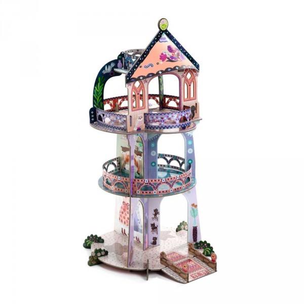Djeco Kinder Spielzeug Schlossturm