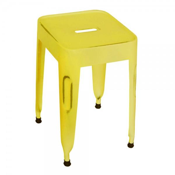 Kidsdepot Hocker Metall gelb