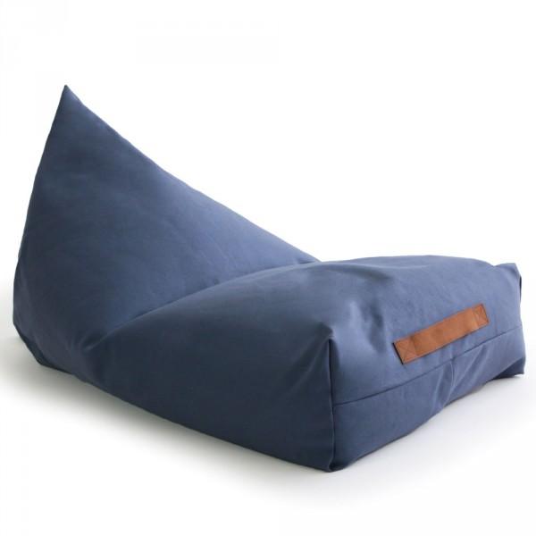 Nobodinoz Sitzsack / Sitzkissen Oasis Aegean blau