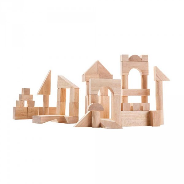 Plan Toys Bauklötze Set natur