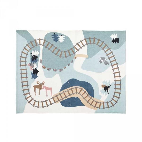 Kids Concept Spielteppich Wald Baumwolle