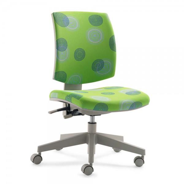 Mayer Kinder Bürostuhl flexo grün Kringel