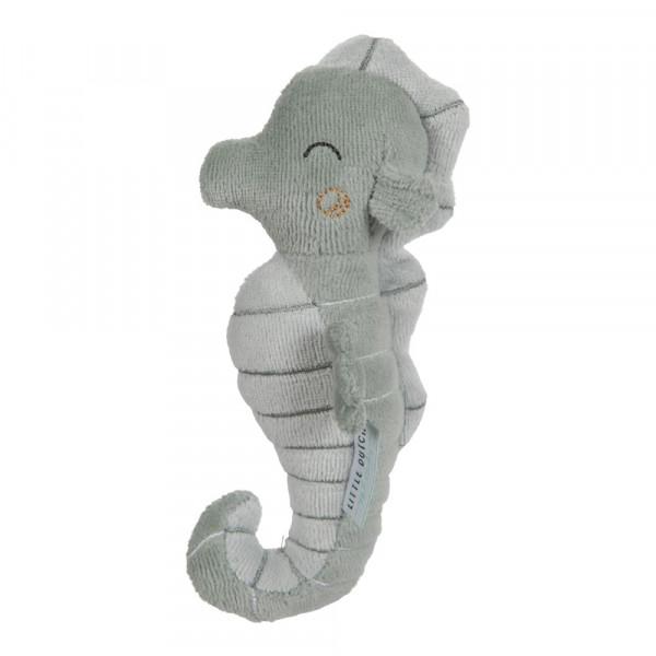 Little Dutch Baby Rassel Seepferdchen Ocean mint