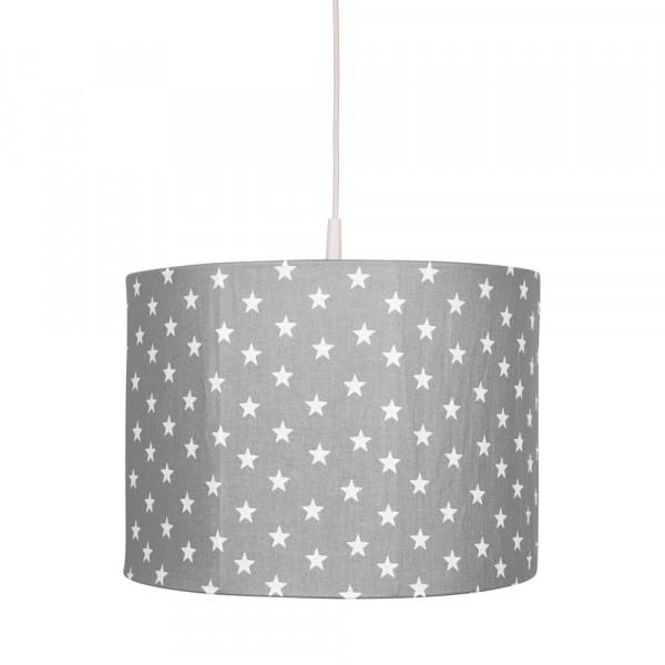 Bink Pendellampe Sterne grau