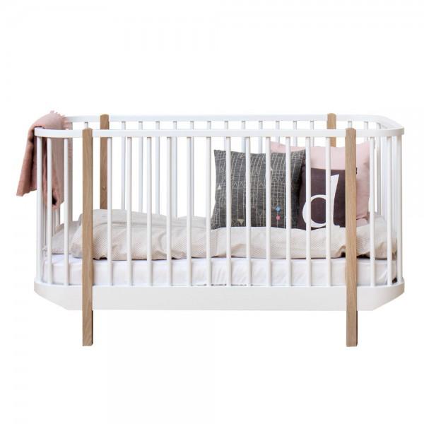 Oliver Furniture Wood Babybett Eiche 70 x 140