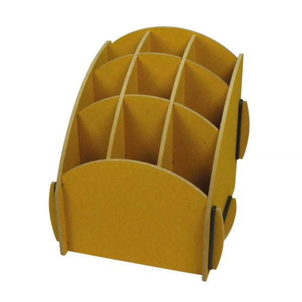 Werkhaus Stiftebox gelb