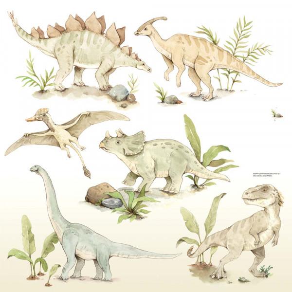 Dekornik Wandsticker Dinosaurier