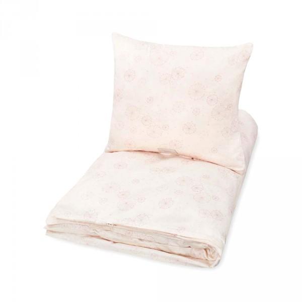 Cam Cam Kinderbettwäsche Löwenzahn rosa 100 x 135