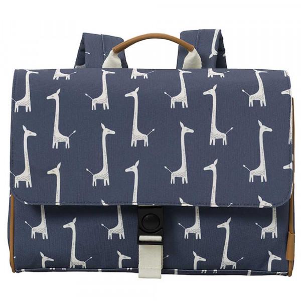 Fresk Schulranzen Giraffe blau