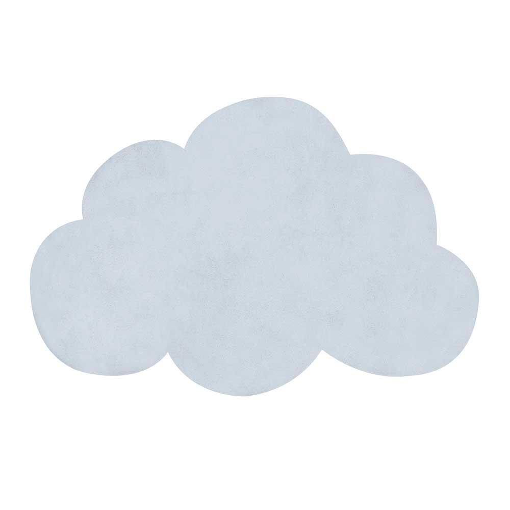 Lilipinso Teppich Wolke Hellblau Bei Kinder Raume