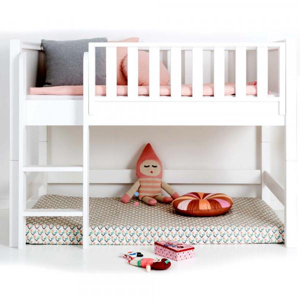 Sanders halbhohes Bett Fanny 90 x 160 cm weiß
