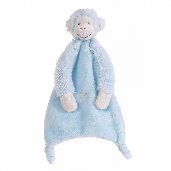 Happy Horse Baby Schmusetuch Affe Mickey blau