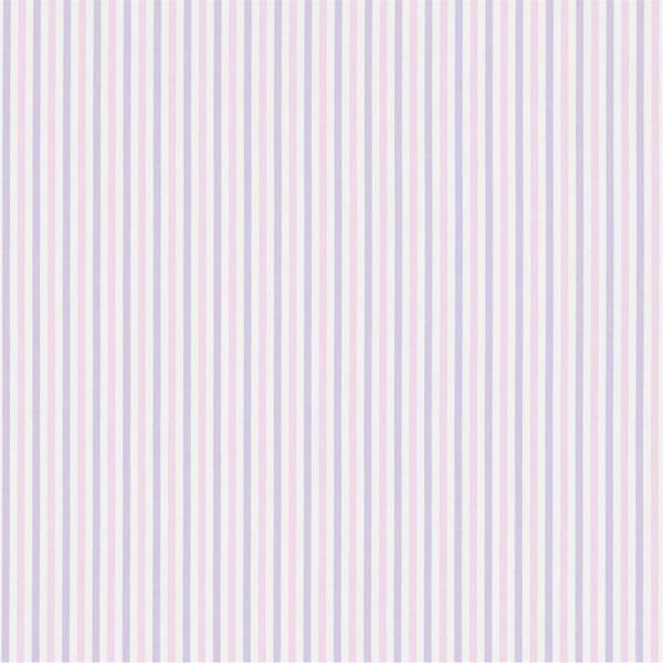 Little Sanderson Abracazoo Streifenstoff Seaton rosa lavendel