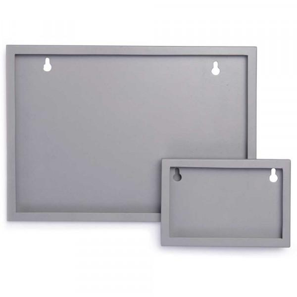 Kidsdepot Bilderrahmen Wand DIN A4 Metall grau