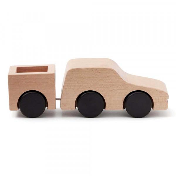 Kids Concept Spielzeug Transporter Holz natur