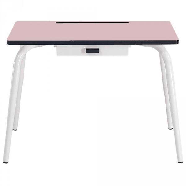 Gambettes Kindertisch/Schreibtisch Romy puder rosa