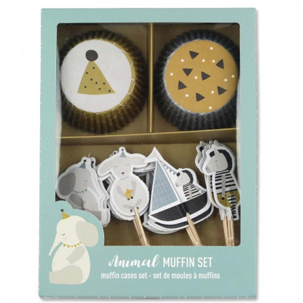 Ava & Yves Cupcake Set Tiere