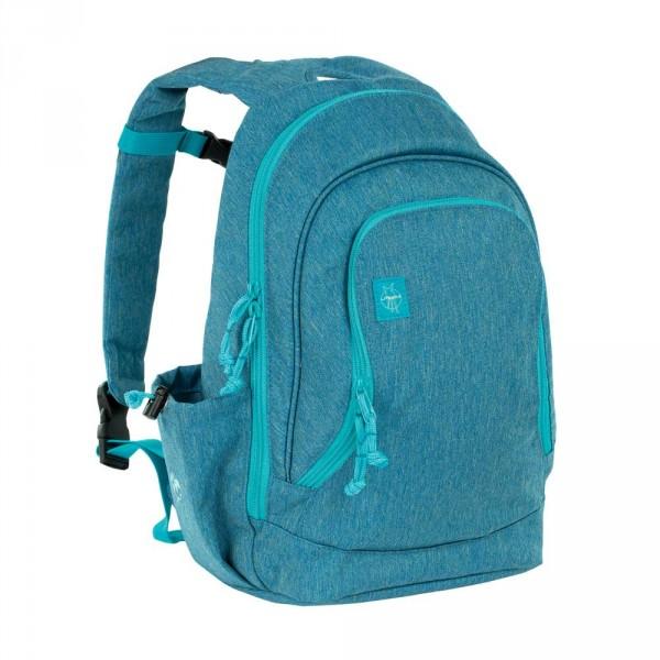 Lässig Kinderrucksack Freunde groß blau meliert