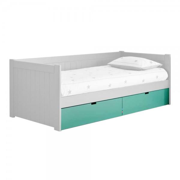 Asoral Roomplanner 2 Bettschubladen auf Rollen