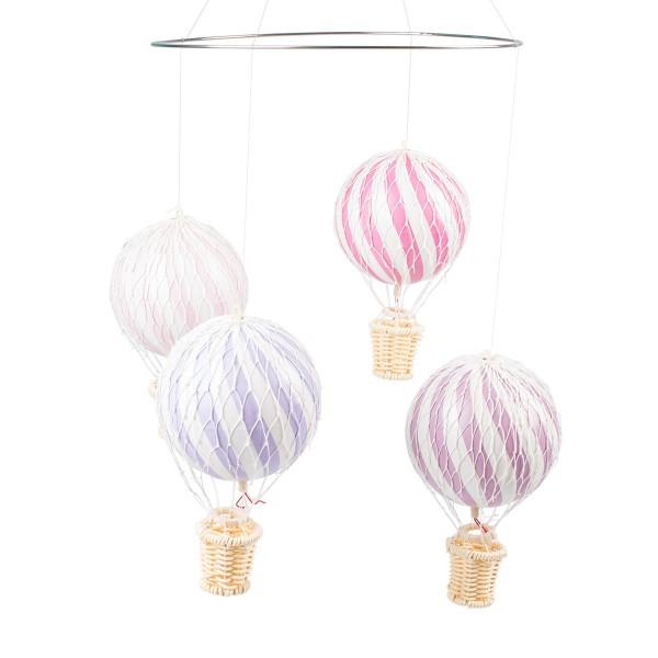 Filibabba Mobile Heissluftballons rosa lila