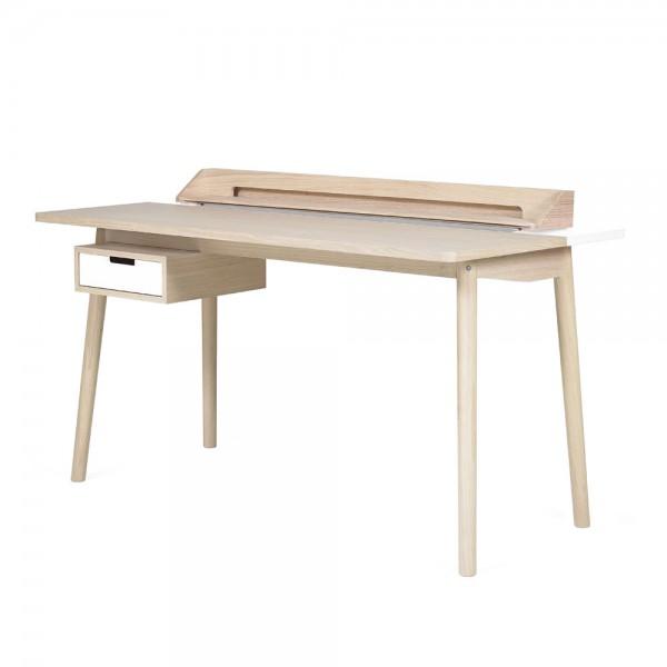 Harto Schreibtisch Honoré Eiche & weiss