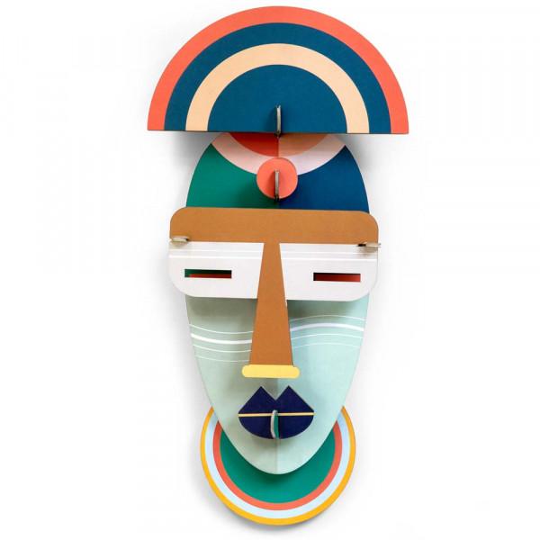 studio ROOF 3D Deko Maske Brooklyn Pappe