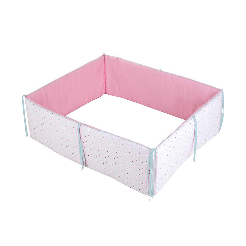 little dutch nest f r laufgitter little hearts bei kinder r ume. Black Bedroom Furniture Sets. Home Design Ideas