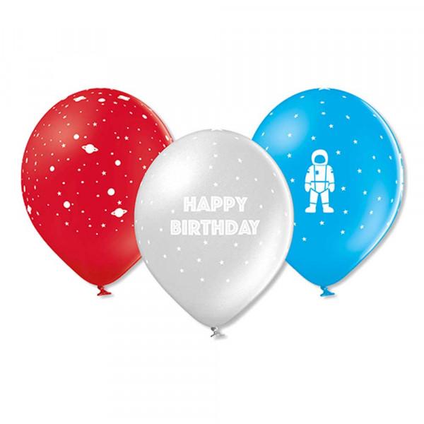Ava & Yves Luftballons Weltraum Naturkautschuk