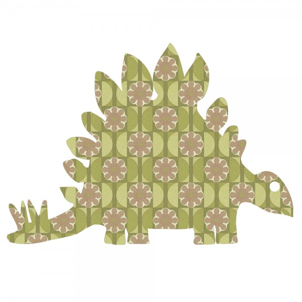 Inke Tapetentier Dino Stagosaurus 80