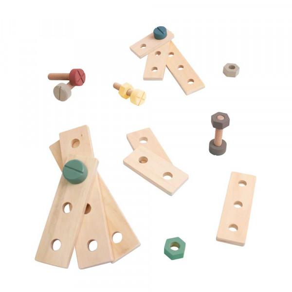 Sebra Konstruktions-Set Holz