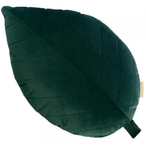 Nobodinoz Dekokissen Palmen Blatt samt grün