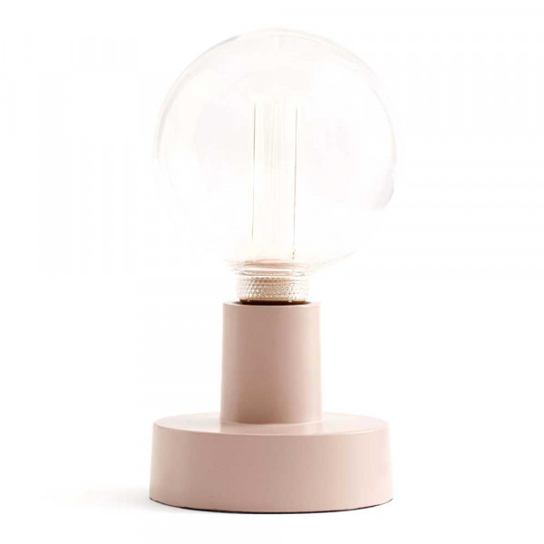 Kids Concept Wand-/Tischlampe Metall zartrosa