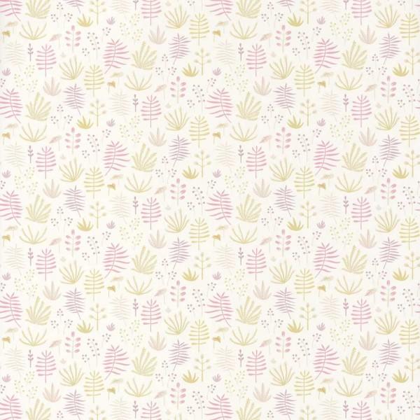 Casadeco Kindertapete Happy Dreams Gräser pink gelb