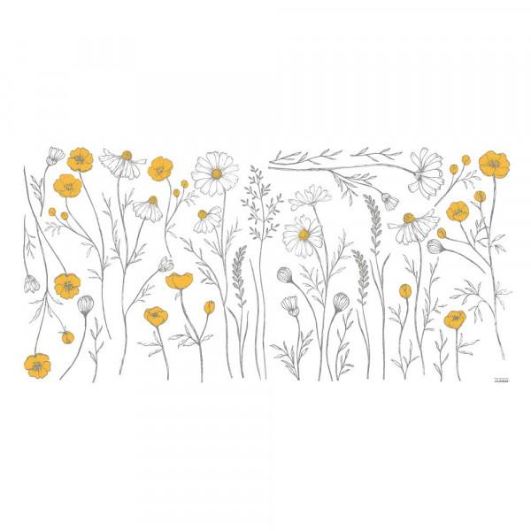 Lilipinso Wandsticker XL Kamille & Butterblume groß