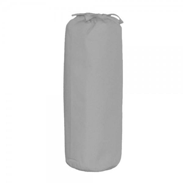 Taftan Spannbettlaken 70 x 140 cm uni grau