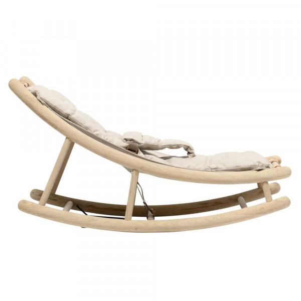 Oliver Furniture Wood Babywippe und Kleinkindwippe Eiche mit natur