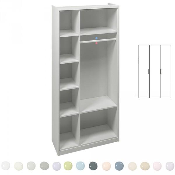 Asoral Roomplanner 3 türiger Schrank Mittelwand 109 cm