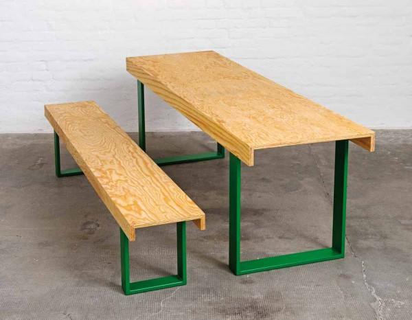 Pure Position beer & bench Tisch