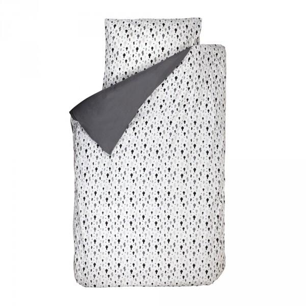 Bink Bettwäsche Kakteen schwarz weiß 100 x 135
