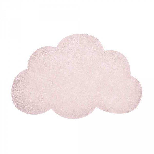 Lilipinso Teppich Wolke hellrosa