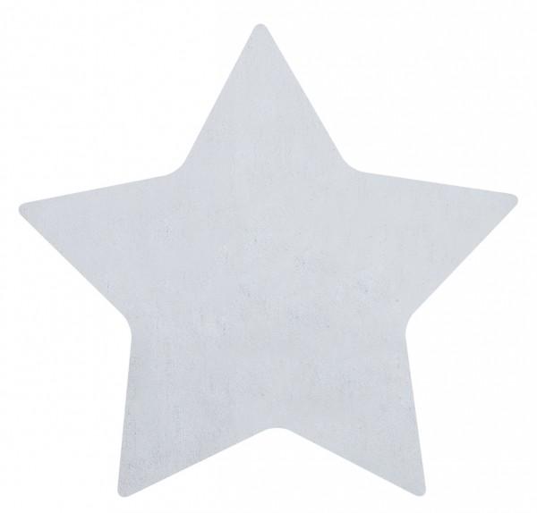 Lilipinso Teppich Stern hellblau