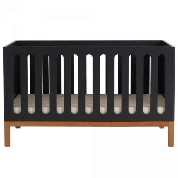 Quax Indigio Babybett 70x140 cm schwarz