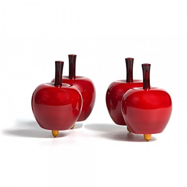 Londji Kinder Kreisel Holz Apfel