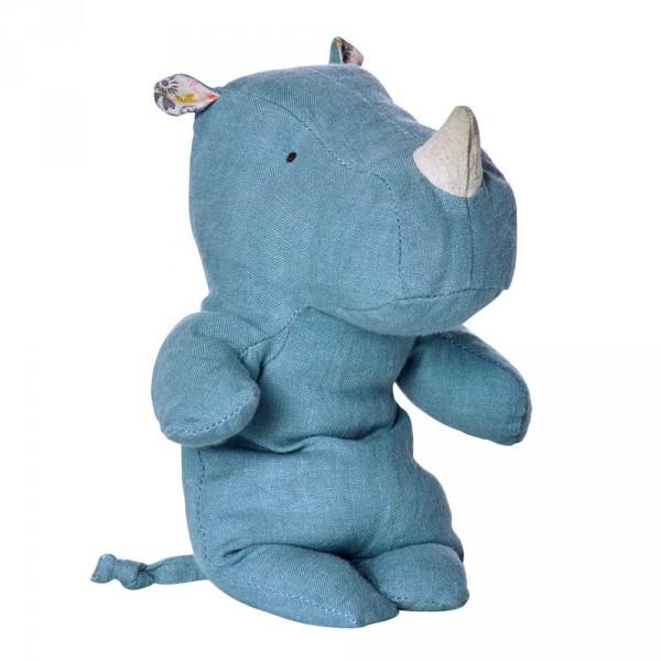Maileg Stofftier Rhino bleu klein
